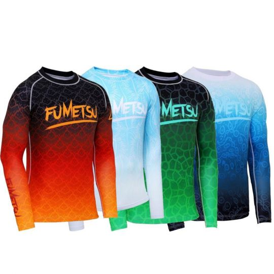 Fumetsu Elements Long Sleeve BJJ Rash Guard