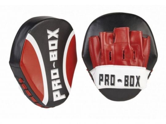 Pro Box Club Essentials Focus Pads - Gen 2 - Schwarz / Rot