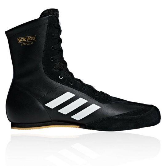 Adidas Box Hog Special Boxing Boots - Black