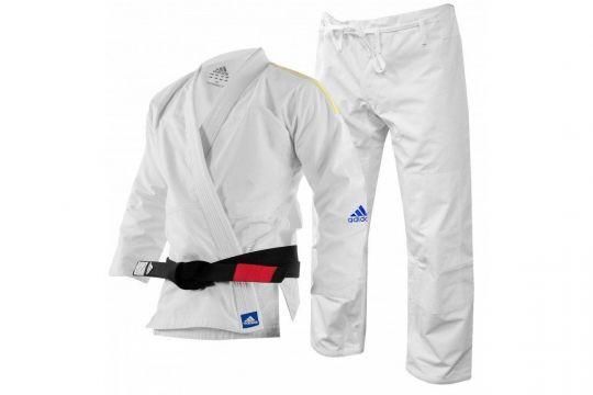 Adidas BJJ Gi Erwachsene und Kinder - Weiß