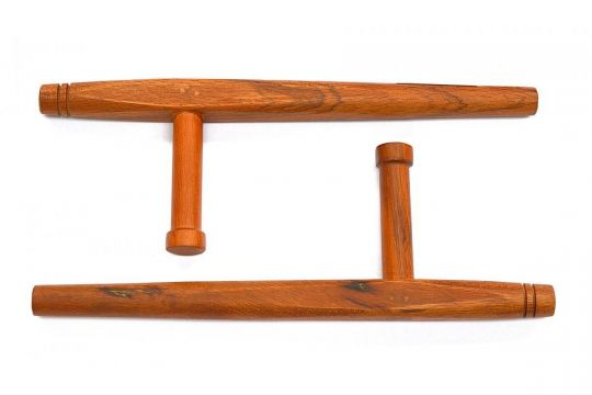 "Cimac Natural Hardwood Tonfa 18"" | Equipment | Fight Equipment UK"