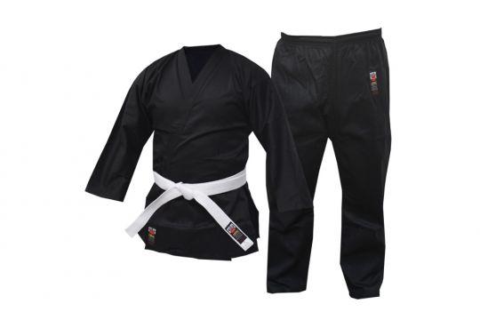 Cimac 8oz Schwarz Karate Anzug - Kinder und Erwachsene