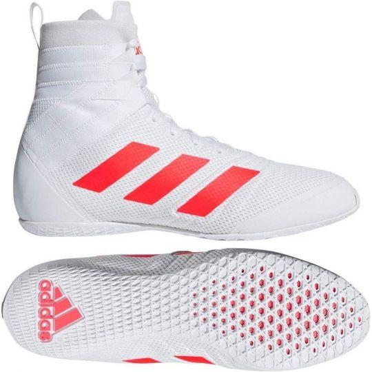 Adidas Speedex 18 Boxing Boots - Weiß
