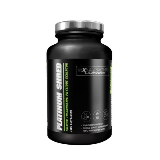 Exclusive Supplements Platinum Shred Fat Burner