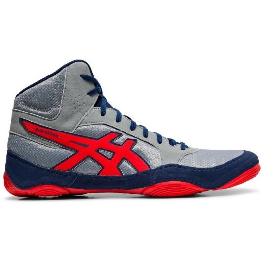 Asics Snapdown 2 Wrestling Boots - Grey/Red