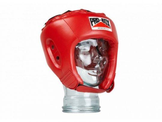 Pro Box Kinder Base Spar Kopfschutz - Rot
