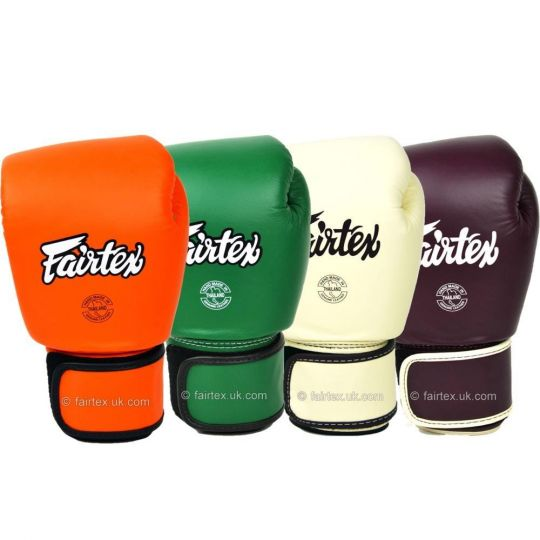 Fairtex Leather Boxing Gloves