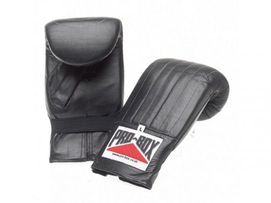 Pro Box Leather Bag Mitts