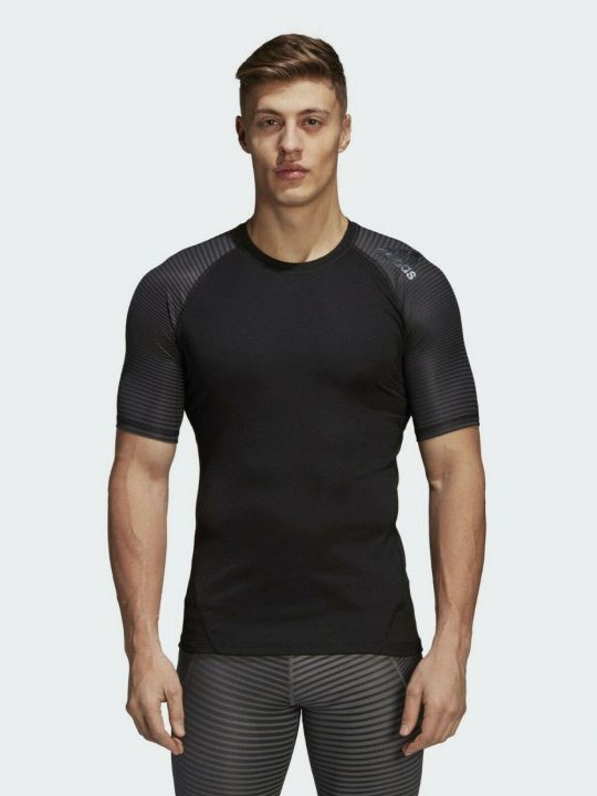 Adidas Alphaskin Short Sleeve Compression Tee