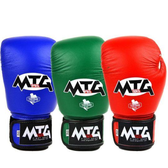 MTG Pro Velcro Boxing Gloves