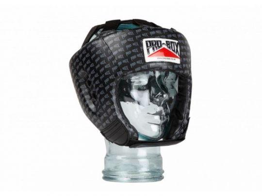 Pro Box Kinder Base Spar Kopfschutz - Schwarz