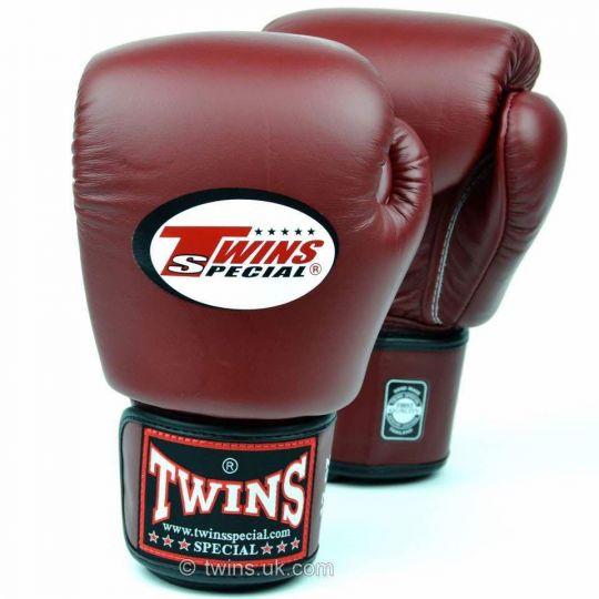 Zwillinge Boxhandschuhe - Burgund