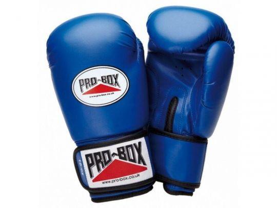 Pro Box Kinder Base Spar Boxhandschuhe - Blau