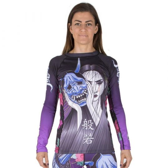 Tatami Ladies BJJ Rash Guard - Weeping Hannya