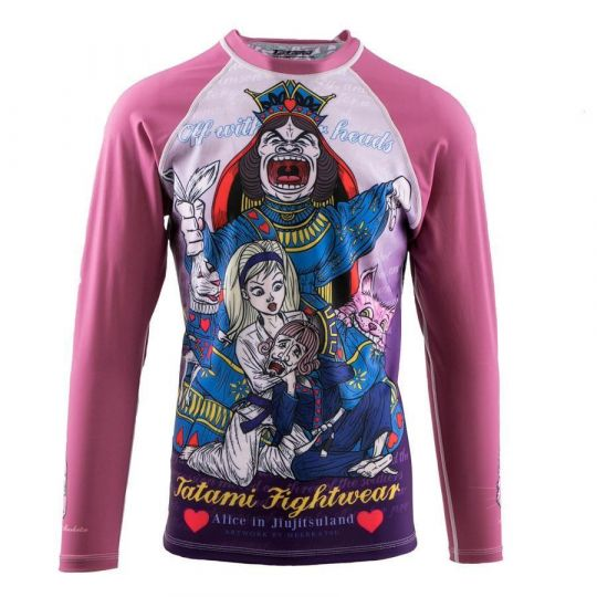 Tatami Kids Rash Guard - Alice in Jiu-Jitsu Land