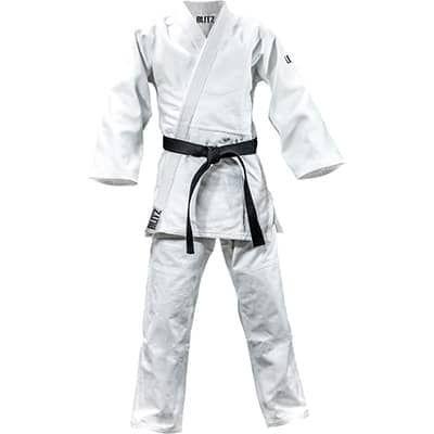 Blitz Sport Polycotton Master Heavyweight 750gsm Judo Suit White