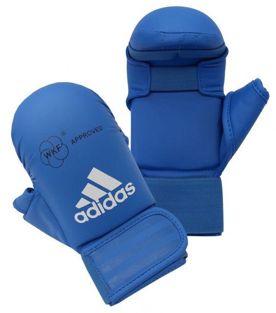 adidas WKF Karate Mitts - Blue