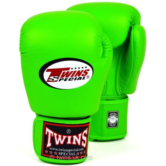 Twin Boxhandschuhe Lime Green