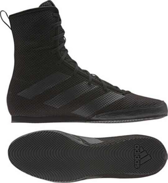 Adidas Box Hog 3 Boxing Boots - Black