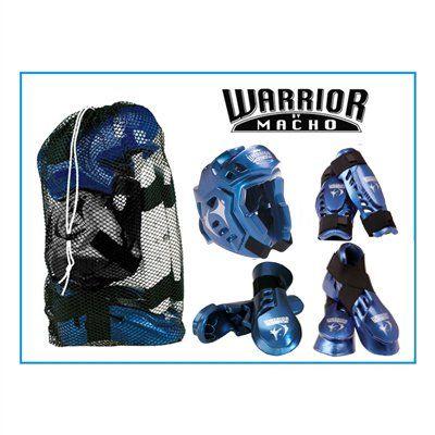 childrens-macho-warrior-combat-kit-metallic-blue