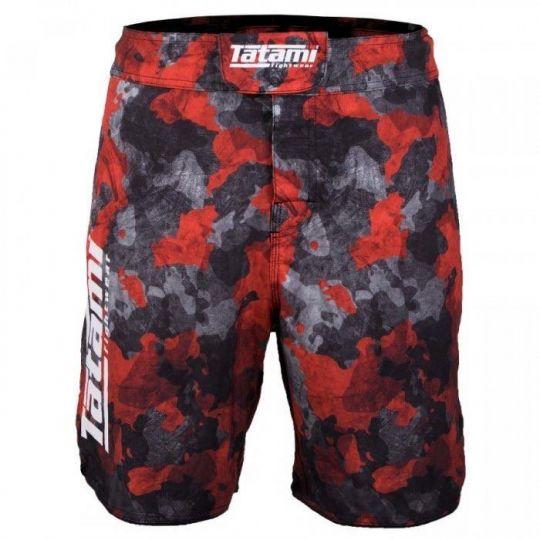 Tatami Renegade Rote Camo BJJ Shorts