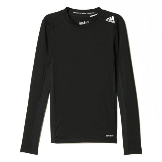 Adidas Techfit Kids Long Sleeve Compression Tee