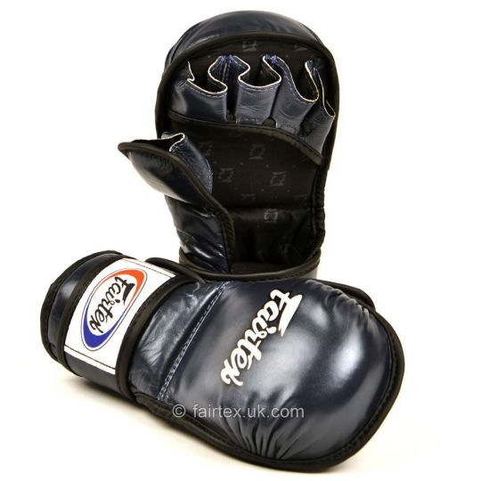 Fairtex Blue MMA Sparring Gloves