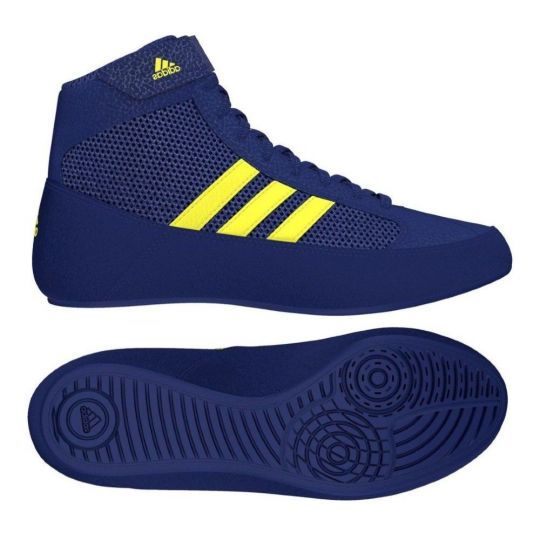 Adidas Havoc Adult Wrestling Boots - Black