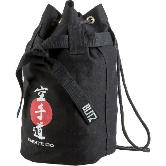 Blitz Sport Karate Discipline Duffle Bag - Black