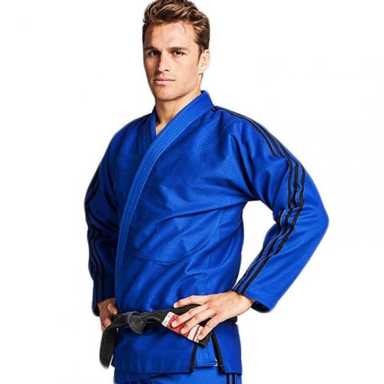 "Adidas BJJ ""Contest"" Uniform - Blue"
