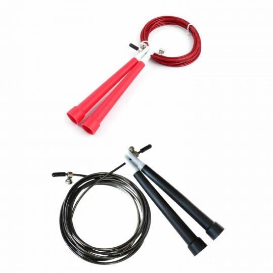 Metal Jump Rope With Plastic Handle