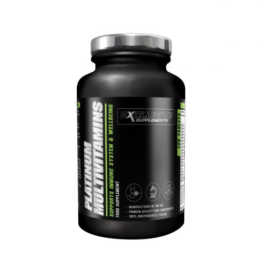 Exclusive Supplements Platinum Multi-Vitamins