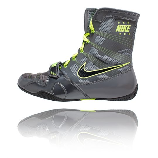 Nike Hyper KO Boxing Boots - Grey