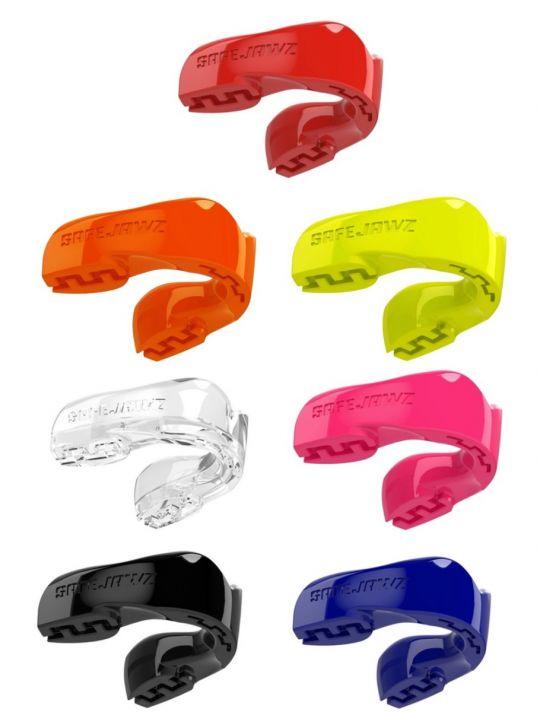 Safejawz Mundschutz für Erwachsene und Kinder Intro