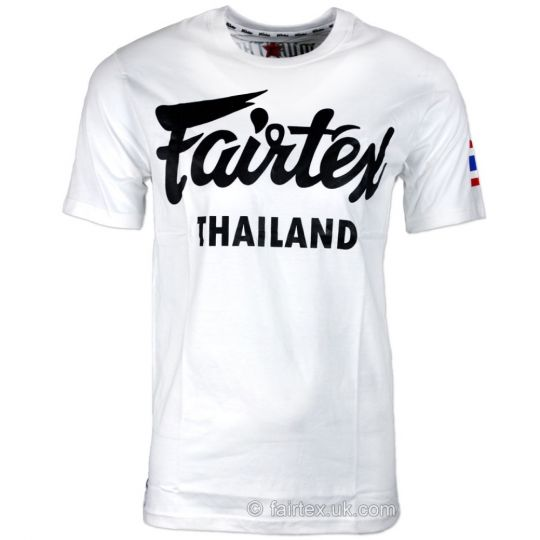 Fairtex Thailand T-Shirt - Weiß