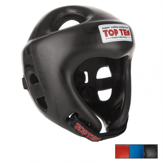 Top-Ten-FIGHT-Headguard-Black