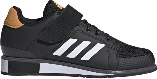 Adidas Power Perfect III Gewichtheberstiefel - Schwarz / Weiß