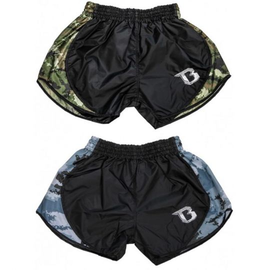 Booster Retro Hybrid Camo Muay Thai Shorts