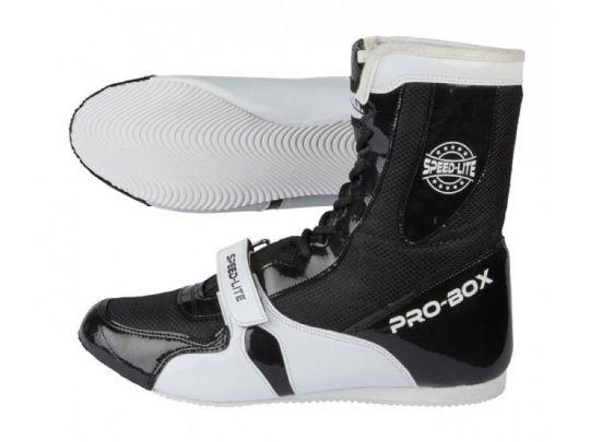 Pro Box Speed Lite Junior Boxstiefel - Schwarz / Weiß