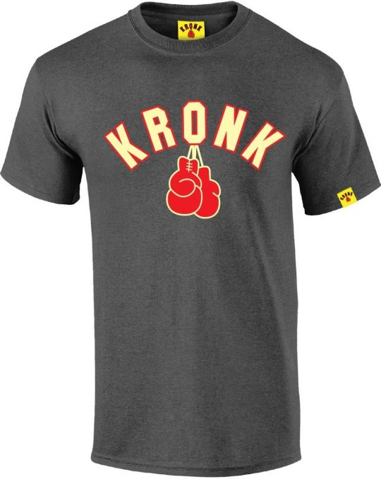 Kronk Gloves T-Shirt - Charcoal