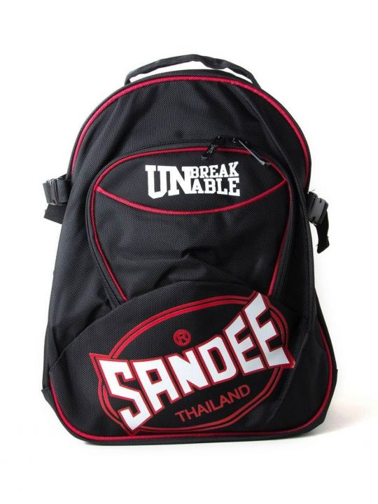 Sandee Backpack - Black/Red