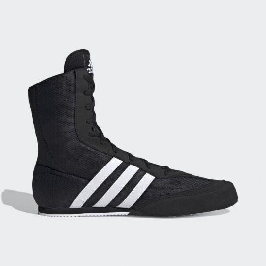 Adidas Box Hog 2.0 Boxing Boots - Black/White