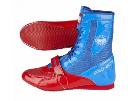 Pro Box Speed Lite Junior Boxstiefel - Blau / Rot