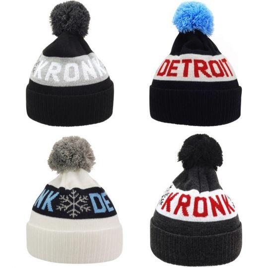 Kronk Detroit Snowflake Bobble Hat