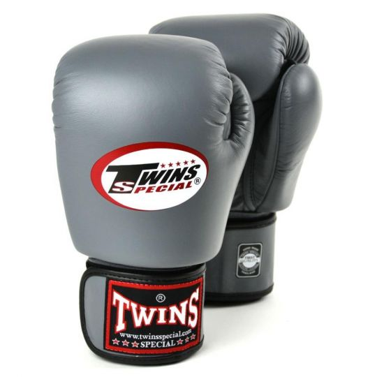 Twins Boxing Gloves - Grey