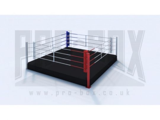 Pro Box Low Platform Boxing Ring - Please Contact Us For Shipping Costs