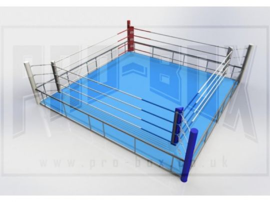 Pro Box Professional Quick Assembly Boxing Ring - Please Contact Us For Shipping Costs