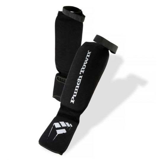 PunchTown Elastic Shin Guards