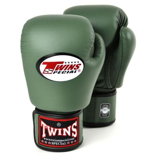 Zwillinge Boxhandschuhe - Militärgrün