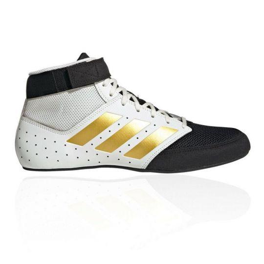 Adidas Mat Hog 2.0 Wrestling Stiefel - Schwarz / Gold